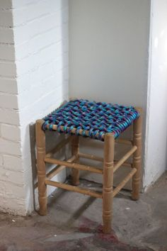 Stools can be endlessly useful in a small space, but sometimes a vintage version can get a bit too vintage (especially at the seat). Bring it back to life byweaving a base fromsuper-strong bungee cords. The mix of colors can create a surprisingly stylish result. Get the how-to from Smile and Wave »