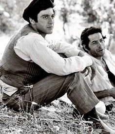 Michael Corleone in The Godfather Dang he is a gorgeous man