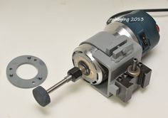 tool post grinders for a lathe | Thread: Built a router based tool post grinder for truing up a chuck