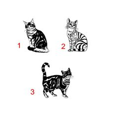 A personal favorite from my Etsy shop https://www.etsy.com/listing/605035481/cat-decal-cat-car-decal-cat-decals-cat