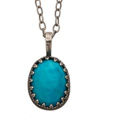 Becky Kelso Turquoise Pendant Necklace
