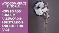 WooCommerce: How to Add Confirm Password in Registration and Checkout Page Registration Form, Ads