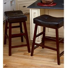 LivingXL Extra Wide Bar Stool At Www.bonton.com