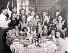 So grateful I grew in this style.... Italian holiday or just a plain ole Sunday...yes, that's the way it's done!