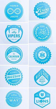 Logo inspiration - Blue