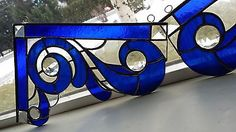 Stained Glass Window Corners- Gorgeous!