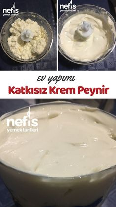 Homemade Additive Cream Cheese - Delicious Recipes - How to Make Homemade Additive Cream Cheese Recipe? Illustrated explanation of this recipe in the - Healthy Food Habits, Healthy Food To Lose Weight, Healthy Meals For Kids, Healthy Foods To Eat, Healthy Drinks, Kids Meals, Healthy Recipes, Delicious Recipes, Wie Macht Man