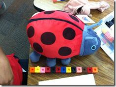 Measuring Beanie Babies...what a great idea for hands on learning from Ketchen's Kindergarten.  Recommended by Charlotte's clips http://pinterest.com/kindkids/making-math-meaningful-charlotte-s-clips/