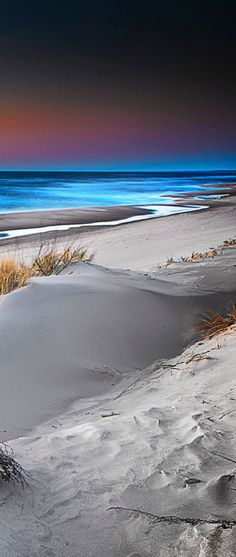 Feel the Breeze and the Warmth of the Sun and Sand ~ Baltic Sea, Poland by Michal Mierzehewski