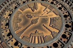 The unexpected beauty of manhole covers around the world - in pictures