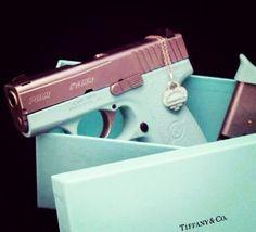 Tiffany's gun.