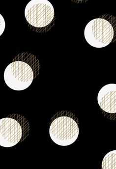 Dots & Gold Lines