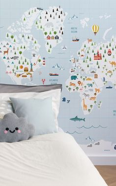 This collection of murals is timeless. The wallpapers are perfect if you are designing a space to last. A space where your little one can start their journey in life, a space to grow, play and transition from infant to toddler and beyond. #wallpaper #murals #interior #design #homedecor #inspiration #ihavethisthingwithwalls #nursery