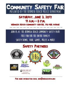 Join us at Hermosa Beach June 3 #carseatsafety