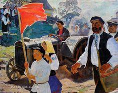 Вайнштейн Михаил (Моисей) Исаакович «Первый трактор»