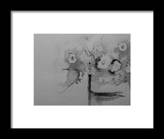 Black White Painting Framed Print by Britta Zehm. All framed prints are professionally printed, framed, assembled, and shipped within 3 - 4 business days and delivered ready-to-hang on your wall. Choose from multiple print sizes and hundreds of frame and mat options.