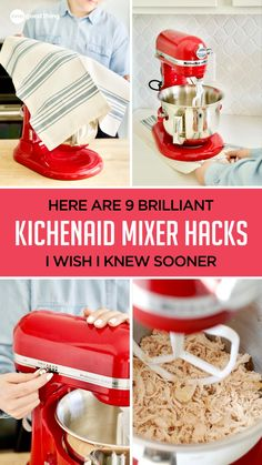 If you love your KitchenAid stand mixer as much as I do, you definitely don't want to miss these hacks! Discover smart ways to store attachments, minimize mess, and more! Kitchen Aid Recipes, Kitchen Aid Mixer, Kitchen Hacks, Kitchen Ideas, Healthy Eating Tips, Healthy Baking, Stand Mixer Recipes, Food Handling, Kitchenaid Stand Mixer