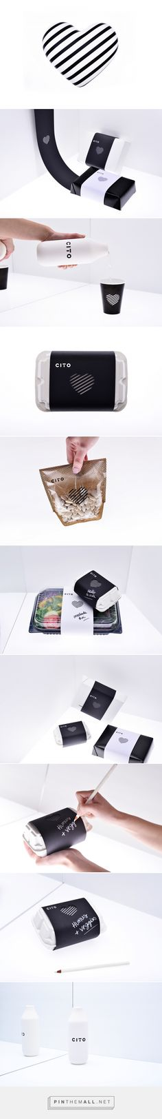 Branding, packaging and empaque for Cito by Estudio Yeyé ® Smart & Beauty curated by Packaging Diva PD. Cito provides a controlled menu that cares about your little heart : )