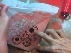 Claudine Hellmuth reverse stencil technique