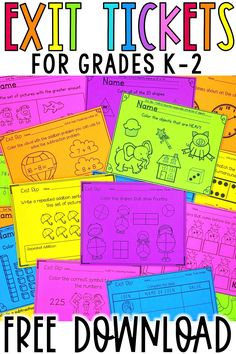 Use these free math assessments for quick, formative assessment for your kindergarten, first grade, and grade students. Teachers will love how easy it is to assess small group or whole group learn Teaching First Grade, Teaching Math, Free Teaching Resources, Teaching Time, Formative Assessment, First Grade Assessment, Assessment For Learning, Reading Assessment, Writing Rubrics