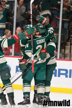 #mnwild were Cooke-in last night. #celly