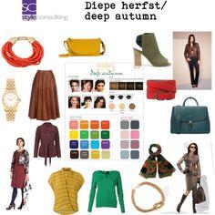 Diepe herfst/ Deep autumn color type