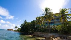 Lindbergh Bay Hotel St Thomas This white sand beach resort is a 5-minute walk from Cyril E. King Airport.  An open-air restaurant is featured, and all rooms provide free WiFi and a flat-screen TV.