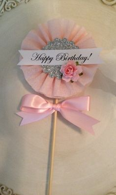 This Beautiful Shabby Chic Happy Birthday Wand for Birthday is just one of the custom, handmade pieces you'll find in our party décor shops. Wand Beautiful Shabby Chic Happy Birthday Wand for Birthday Decoration or Cake Topper Shabby Chic Happy Birthday, Happy Birthday Signs, Birthday Cards, Birthday Parties, Tea Parties, Birthday Wishes, Paper Medallions, Diy And Crafts, Paper Crafts