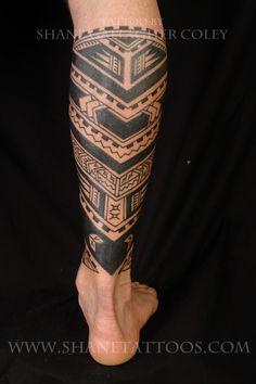 polynesian tattoo #maori #tattoo #tattoos