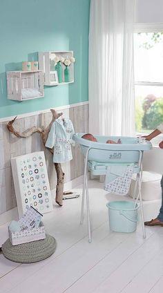 bébé-jou 616132 Windeleimer Owl Family, Eulen, mintgrün: Amazon.de: Baby
