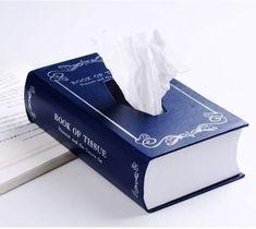 Book-Style Tissue Box