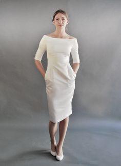 Elegante kleider mit carmenausschnitt