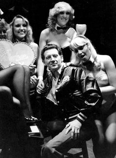 Jerry Lee Lewis at the Playboy Club in Manchester (UK), February 10, 1980.