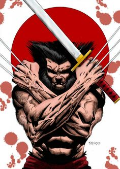 Wolverine in Japan colors by marcandredaoust