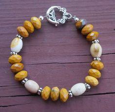 Genuine Grade AA Faceted Moukaite Jasper by EurekaSpringsRocks, $38.95 -- All Natural Color, Hand-selected stones