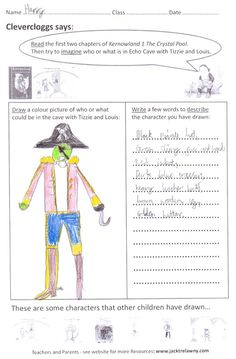 Free school author visit to Elm Green Prep School CM3 4SU. Great drawings and descriptions in the pre-visit classwork by the children of Years 3 and 4 using my pre-visit Teacher Resource: 'Imagine who or what is in Echo Cave with Tizzie and Louis'. And some lovely 'thank you' letters from the children too.