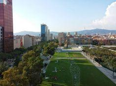 Parc de Joan Miró in Barcelona