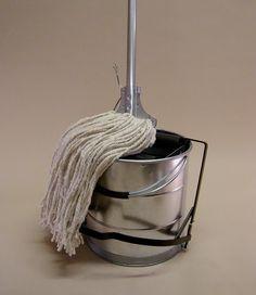 Kentucky mop and bucket