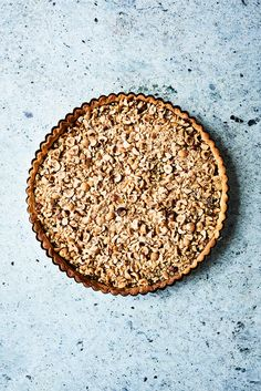 A delicious pie, with chocolate and nougat. Pastry Recipes, Cake Recipes, Dessert Recipes, Desserts, Love Cake, Freshly Baked, Bread Baking, Yummy Cakes, Food Inspiration