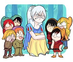 Snow Weiss, and the 7 idiots who have to carry her filthy support ass through fights.
