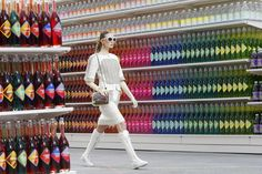 Super (Model) Market: Chanel Transforms Runway to Grocery Aisle ...