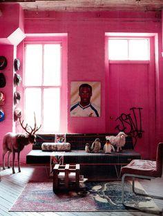 Designer: Dave Albadeff  Fotógrafo: Jonny Valiant  Fonte: Architectural Digest October 2010