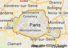 Paris, France - via Thello Night Train 2014