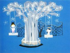 It's a small world.  Mary Blair.