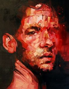 ANDREW SALGADO |  ITS NOT ABOUT LOVE 2012 - Detail |  Oil on canvas - 140x120cm