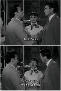 Audrey Hepburn, Gregory Peck in Roman Holiday Old Hollywood Movies, Golden Age Of Hollywood, Classic Hollywood, Roman Holiday Movie, Audrey Hepburn Movies, William Wyler, Movie Subtitles, Old Movie Stars, Actrices Hollywood