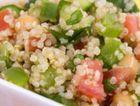 Quinoa con Pollo o Gamberi
