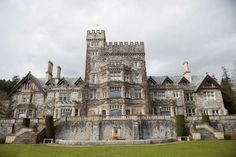 Hatley Castle - Victoria, BC Canada - Built in 1908 / Christa Brunt/Getty Images