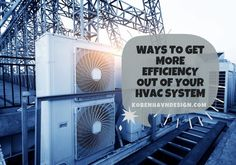 Heating And Cooling Units, Variable Speed Motor, Heating And Air Conditioning, Heat Pump, What Happens When You, Energy Efficiency, Home Renovation, House Warming, House Design