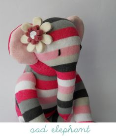 Elephant Sock Monkey Thingy